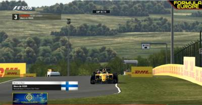 FECL 2017 #HungaryGP: F1Simu wins a crazy race in Hungaroring with Libero. Second position F1Italian_Cast, first podium for Racestars with Jemzoh.